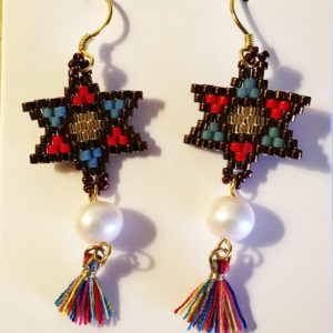 freshwater pearl and bead star er