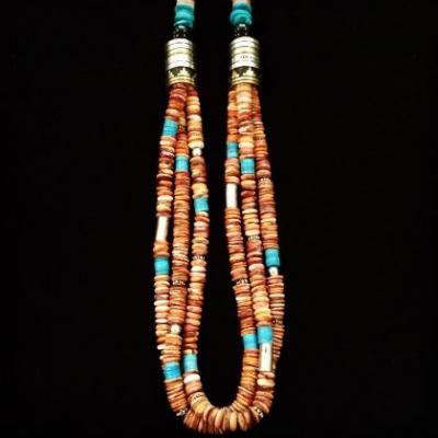 Tommy & Richard Singer Navajo Necklace