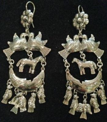 Maria Belen Chandelier Earrings