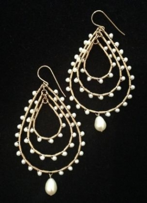 14ct Gold & Pearl Earrings