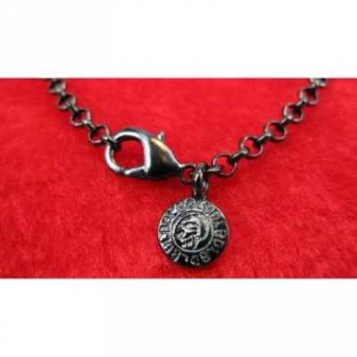Black Ion Plated 90cm Brass Chain