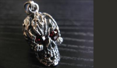 Decayed Skull Pendant