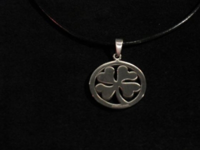Stainless Steel Clover Necklace