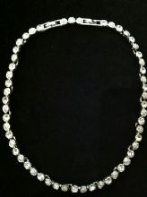 Swarovski Crystal Extendable Necklace