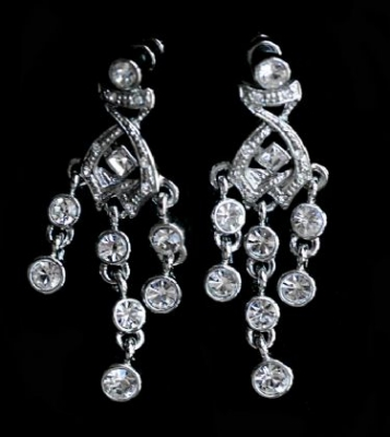 Elegant Swarovski Earrings
