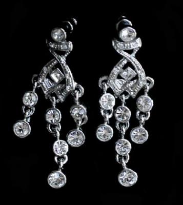 Elegant Swarovski Earrings