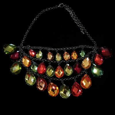 Gorgeous Joan Rivers Statement Necklace