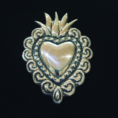 Heart Shaped Maria Belen Brooch & Pendant