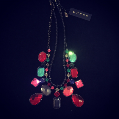 Colourful Guess Necklace