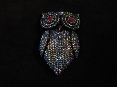 Amazing Owl Brooch/Pendant