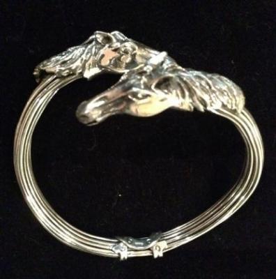 Horse Bangle by Maria Belen