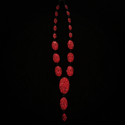 Sparkles Red Crystal Necklace