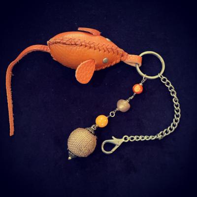 Handmade Mouse Bag Charm