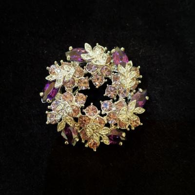 Pretty In Purple Brooch