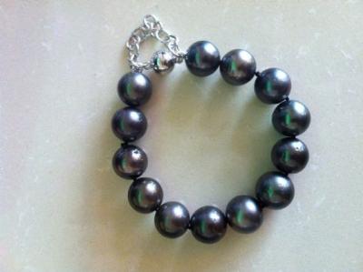 Lustrous Tahitian Pearl Bracelet