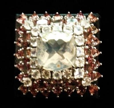 Opal & Colour Change Garnet Statement Ring