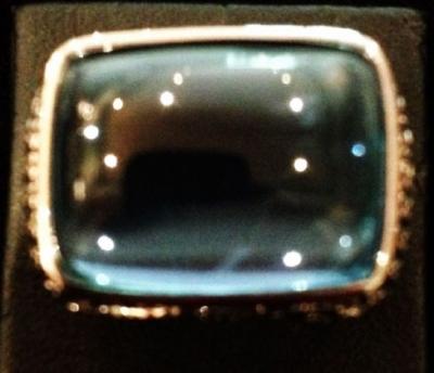 London Blue Topaz & Sapphire Statement Ring