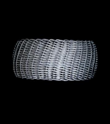 Large Handmade Open Weave Cuff