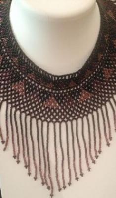 Guatemalan Handmade Bead Necklace